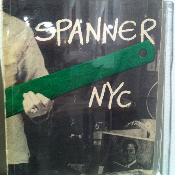 Cover image from Spanner NYC (with green highlight)