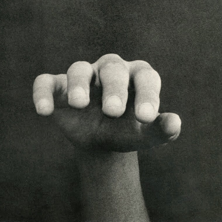 Photographic mage of a hand