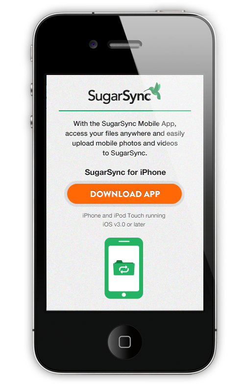 SugarSync - mobile download
